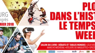 Festival Historia 2018 : C'est parti !