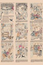 Image d'Epinal - Les aventures du capitaine Hatteras de Jules Verne