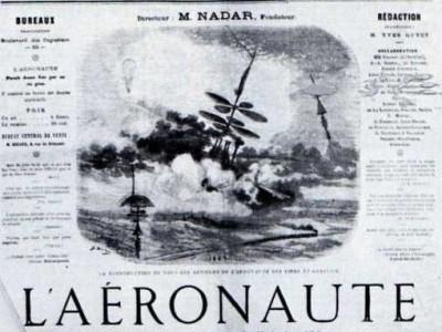 Gabriel de la Landelle, marin et pionnier de l'aviation