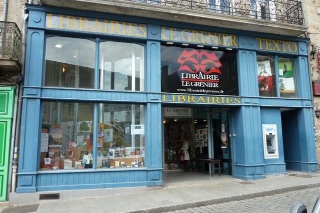 La librairie le Grenier à Dinan accueille Banquises et Comètes.