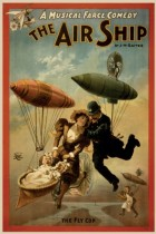The airship, a musical farce comedy