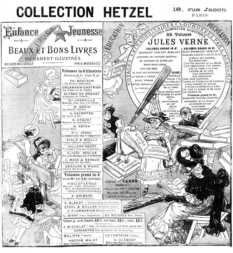 Un livre pour noel, collection Hetzel