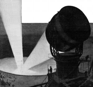 Appareil pour communiquer avec Mars par signaux lumineux